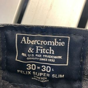 A & F Felix Super Slim Stretch Jean 30x30
